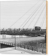 The Marine Road Bridge Southport 2 Wood Print