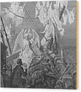 The Mariner Sees The Band Of Angelic Spirits Wood Print