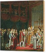 The Marriage Of Napoleon I 1769-1821 And Marie Louise 1791-1847 Archduchess Of Austria, 2nd April Wood Print