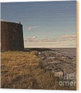 The Martello Tower Wood Print