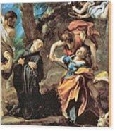 The Martyrdom Of Four Saints Wood Print