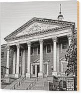 The Maryland State House Wood Print