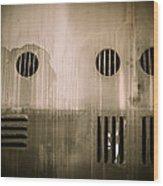 The Masks We Wear Wood Print