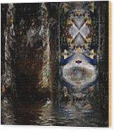 The Masquerade Wood Print