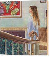 The Matisse Wood Print by Nick Payne