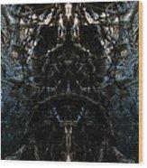 The Maw Of Evil Wood Print