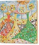 The Meadow 746 - Marucii Wood Print