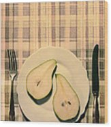 The Meal Of The Day Wood Print