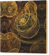The Mechanical Universe Wood Print