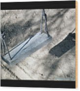 The Memories Of This Old Swing2 Wood Print