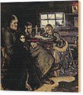 The Menshikov Family In Beriozovo, 1883 Oil On Canvas Wood Print