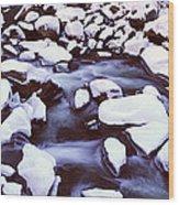 The Merced River In Winter, Yosemite Wood Print