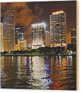 The Miami Guardian Wood Print