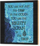 The Mighty Celtic Ocean Wood Print