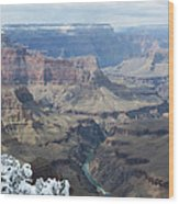 The Mighty Colorado River Wood Print