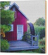 The Mill At Kimberton Wood Print