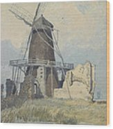 The Mill St Benet's Abbey Wood Print