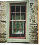 The Mill Window  Wood Print