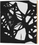 The Minaret And Art Wood Print