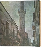 The Minaret Wood Print