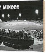 The Minors Usa Wood Print