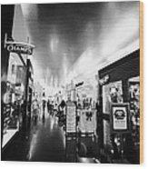 the miracle mile shops at planet hollywood casino Las Vegas Nevada USA Wood Print