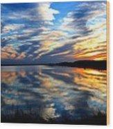 The Mirror Lake Wood Print