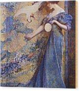 The Mirror Wood Print