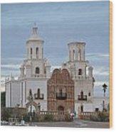 The Missioin Of San Xavier 10 Wood Print
