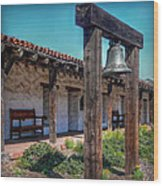The Mission Bell Wood Print
