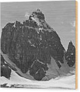1m3523-bw-the Mitre Wood Print