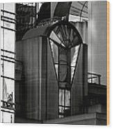 The Modern Highrise Wood Print