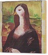 The Mona Goosa Wood Print