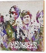 The Monkees Wood Print