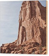 The Monolith Wood Print