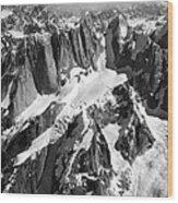 The Mooses Tooth Alaska Wood Print