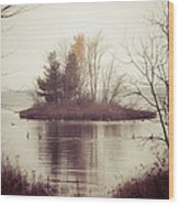 The Morning Calm Wood Print