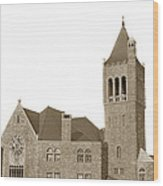 The Mother Church The First Church Of Christ Scientist Boston Massachusetts Circa 1900 Wood Print