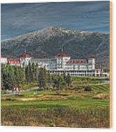 The Mount Washington Hotel Wood Print