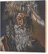 The Mountain Man Wood Print