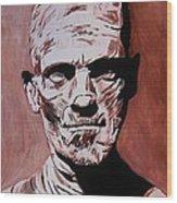 The Mummy Wood Print