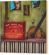 The Music Box Edit 3 Wood Print