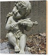 The Musician 03 Wood Print