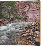 The Narrows Virgin River Wood Print