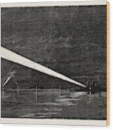 The Naval Manoeuvres, With The Hostile Fleet The Fleet Wood Print