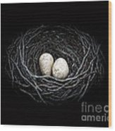 The Nest Wood Print