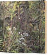 The Net Wood Print