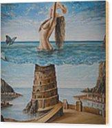 The New Babylon Wood Print
