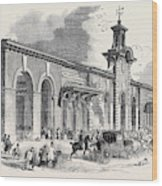 The New Bricklayers Arms Terminus Of The South-eastern Wood Print