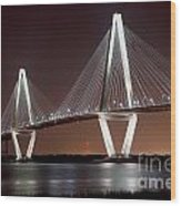 The New Cooper River Bridge Wood Print